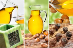 Argan oil Collage